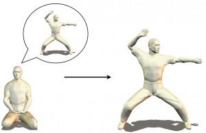 perfect karate kata