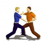 pinan three karate moves
