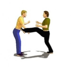 karate move