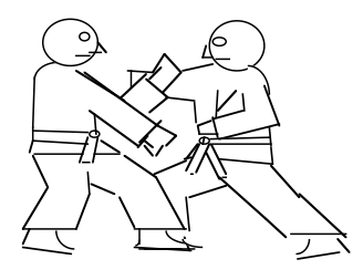 Karate dude