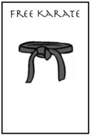 free karate box